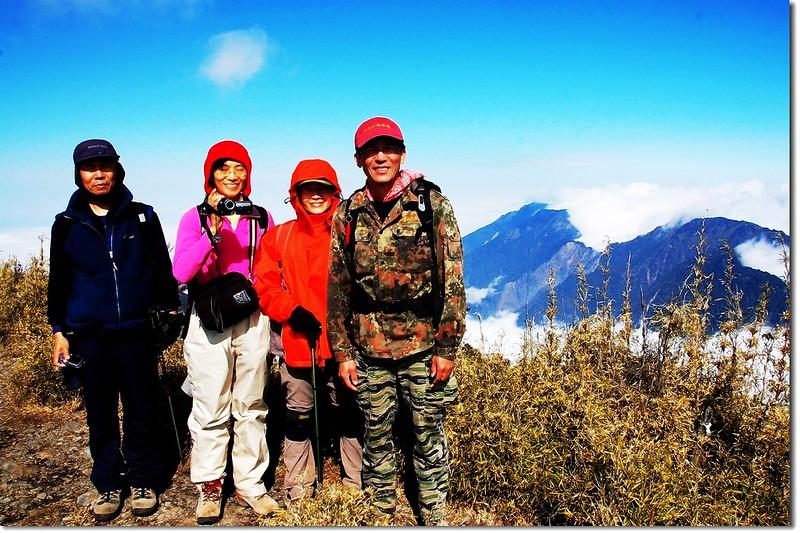 郡大北峰頂(Elev. 3241 m) 1