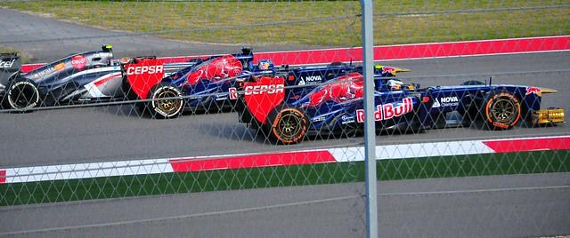 Gutierrez Verne Ricciardo Last Laps Struggle