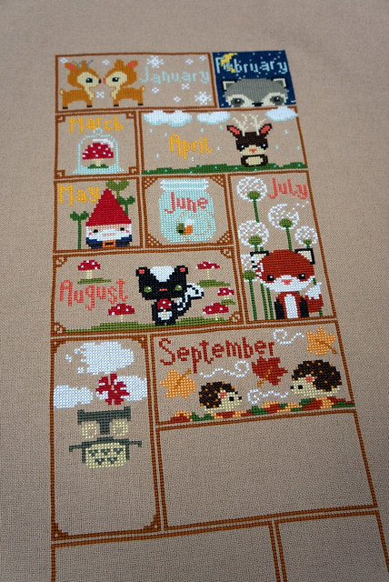 Woodlands Sampler Jan-Sept