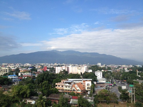 Our first morning in Chiang Mai