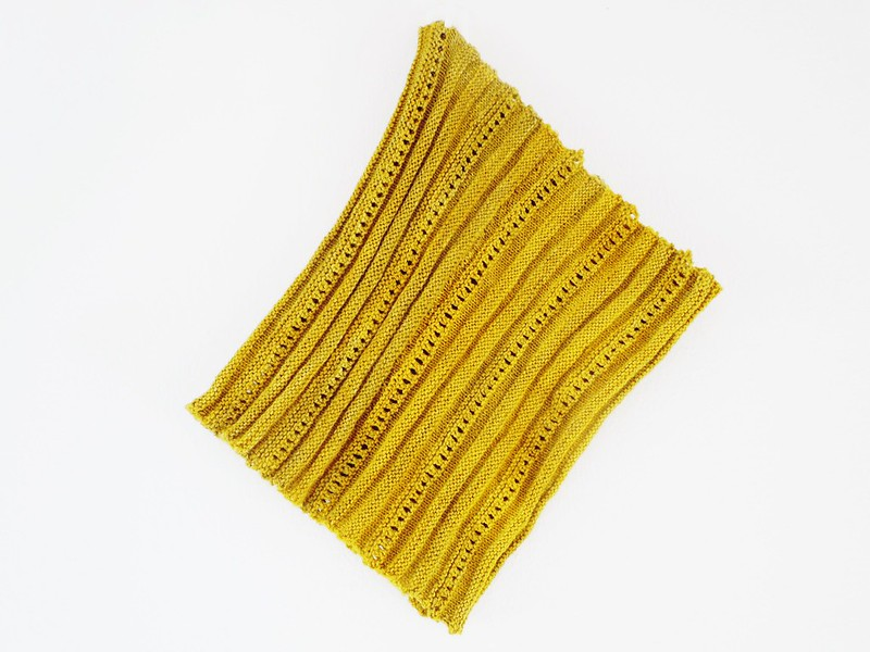 Afrato cowl - free pattern from Wool & Cotton