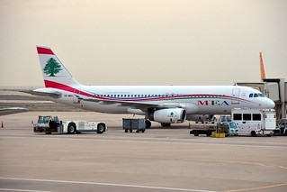 OD-MRO MEA - Middle East Airlines Airbus A320-232