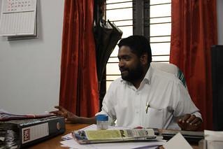 Manalur Gram Panchayat President Surjith