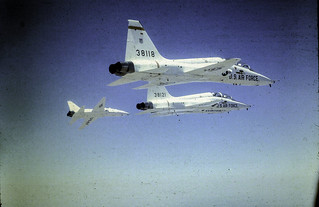 T-38 Formation Flying July 4 1970