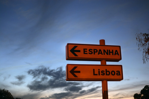 Destination set! Spain and Lisbon; same direction! Looking good by Hugo Alexandre Cruz