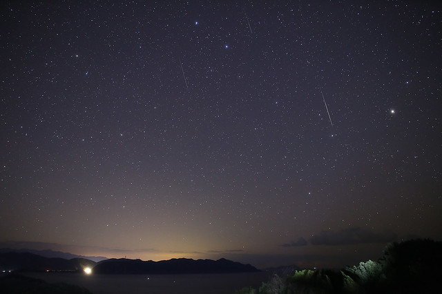Geminids 2013ふたご座流星群