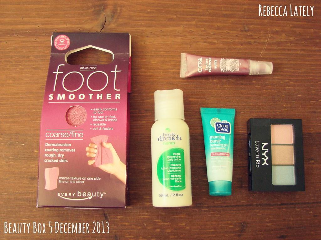 Beauty Box 5 December 2013