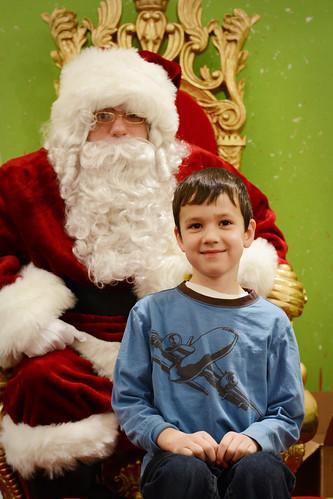 2013 Santa visit
