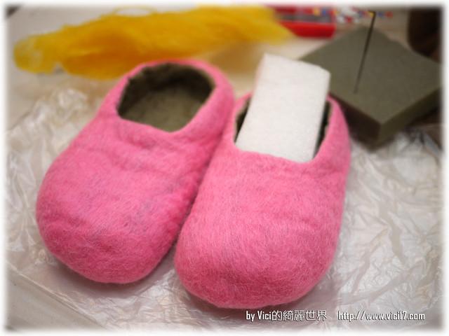 1217羊毛氈室內鞋054