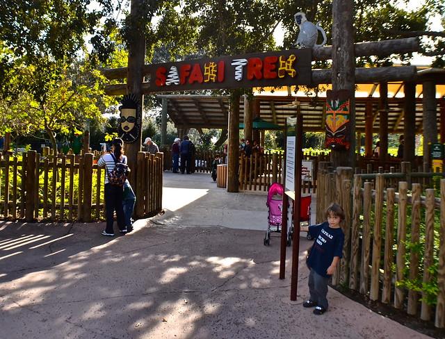 Legoland, Florida - safari trek ride