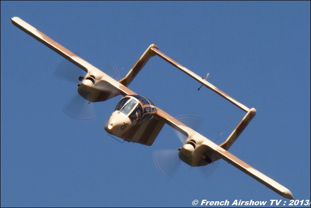 OV-10 bronco montelimar au Free Flight World Masters Valence 2013, Meeting aerien 2013