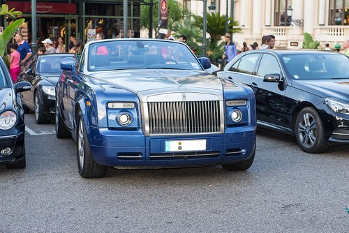 Rolls Royce at Casino Square
