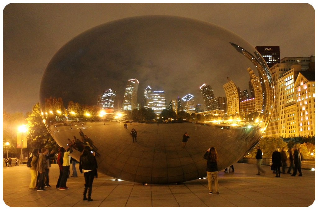 10 bean reflections at night chicago