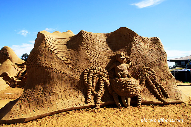 Sand Sculpting Exhibition In Frankston Victoria