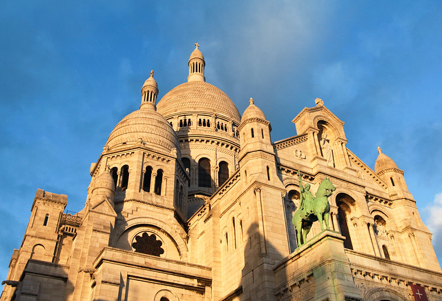 Sacré Coeur at Golden Hour