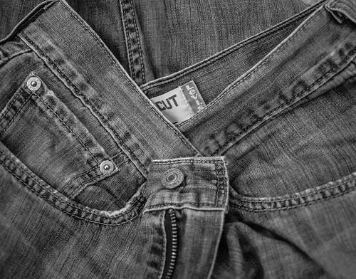 My favourite jeans died today.
