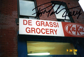 Degrassi Grocery - Signed by Pat Mastroianni