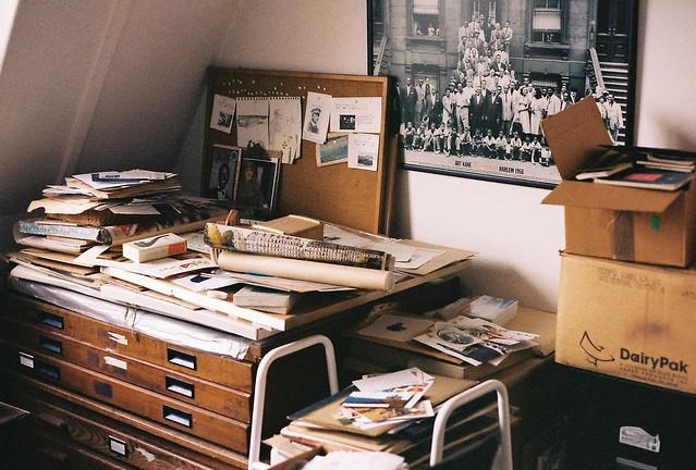 grandpa's study