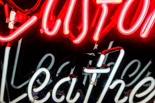 Leathe Neon by joeeisner