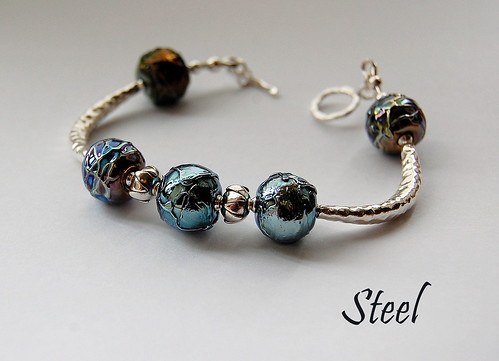 Steel Bracelet by gemwaithnia