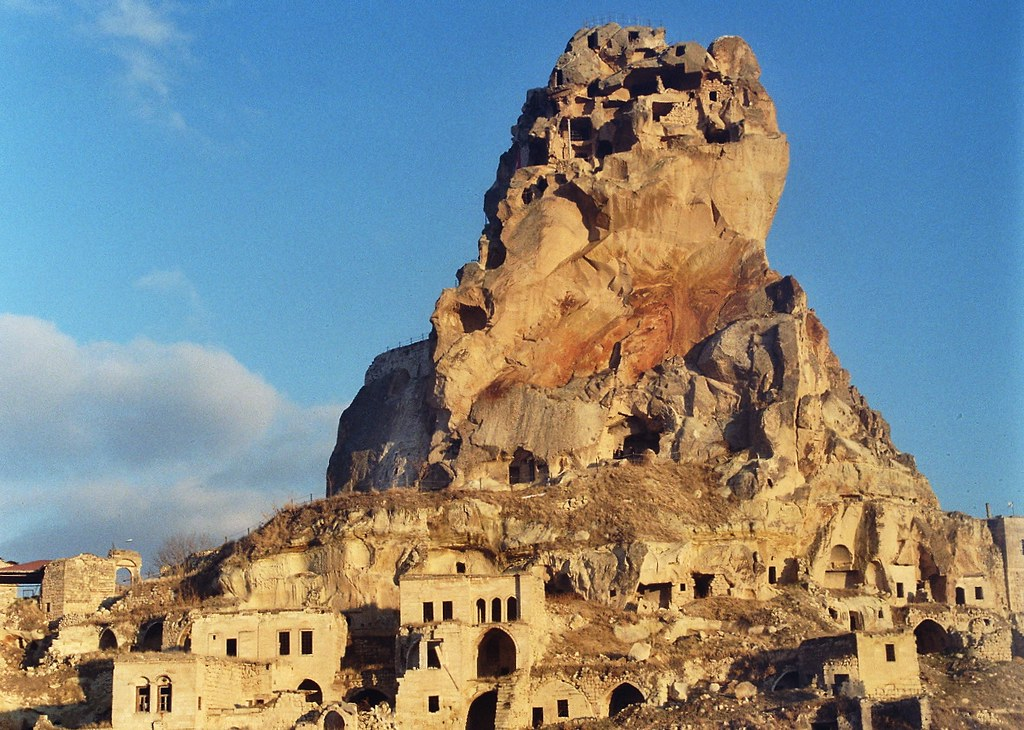 Leica M3 (1954), Ortahisar Castle, Cappadocia (Kapadokya - Turkey)