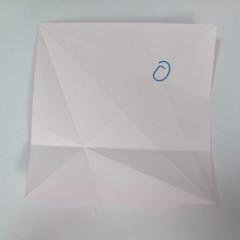 สอนการพับกระดาษเป็นลูกสุนัขชเนาเซอร์ (Origami Schnauzer Puppy) 009