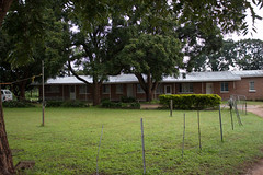 The mission house in Choma