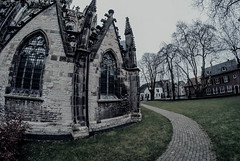 St John's Cathedral exterior (fisheye)