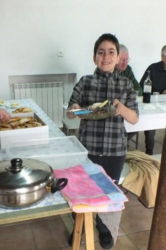 Daniel colabora en el banquete, Pardesivil, Sta Eulalia