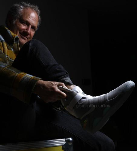 140217(4) - Nike設計師 Tinker Hatfield 宣布《回到未來》Power Laces 動力鞋帶將在2015年成真!