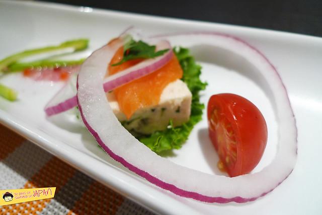 Shogetsu Grand Hotel - Shogetsu style seasonal dinner - salad