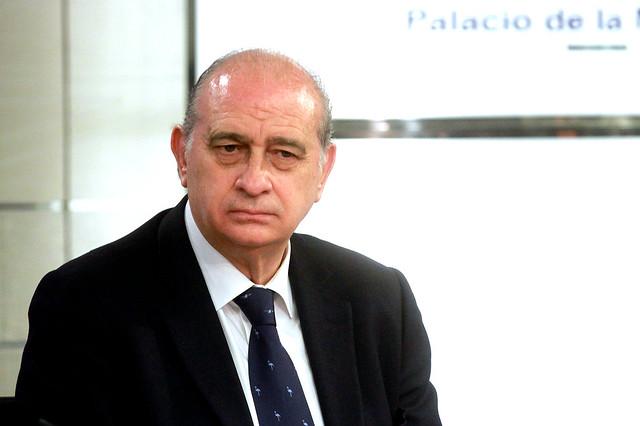 El ministro del interior ha comparecido en la rueda de for Escuchas del ministro del interior