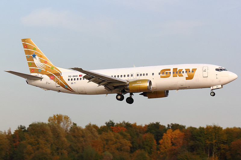 Sky - B734 - TC-SKG