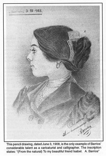 Isabel, pencil drawing by Barrios in1908 by Poran111