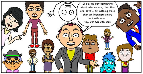 My Self, My Selfie (comic-style)