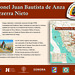 Señalamiento en Arizpe Sonora por Anza Trail NPS