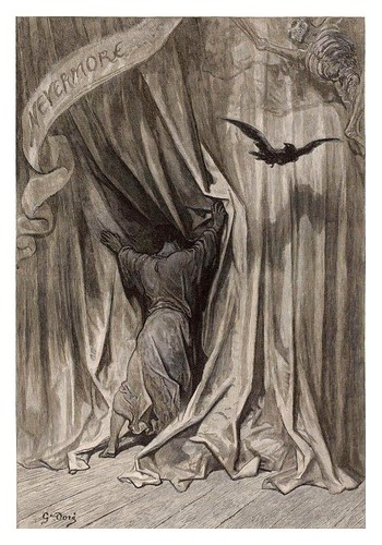 002-The Raven… Illustrated by Gustave Doré-1883-BNF-Gallica