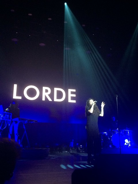 Lorde NRJ Music Tour Olympia Paris