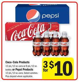picture relating to Coca Cola Printable Coupons named Coke 12pk Cans $2.33 at Meijer this 7 days with $2/2 Printable