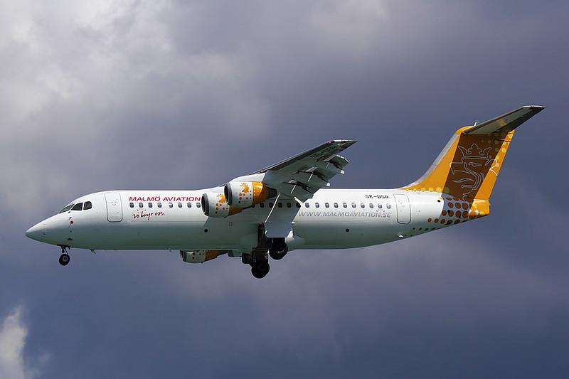 Malmo Aviation - RJ1H - SE-DSR (1)