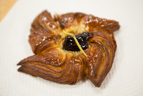 Cherry and lemon danish from Bien Cuit