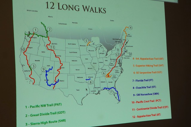 "Swami's ""12 Long Walks"""
