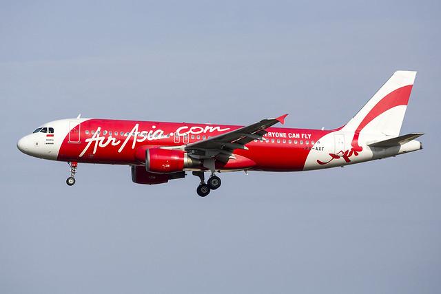 PK-AXT A320 Air Asia   27-03-16 sin