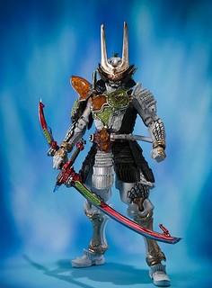S.I.C. 《假面騎士 鎧武》假面騎士斬月・真 蜜瓜能量鎧甲登場!ライダー斬月・真 メロンエナジーアームズ