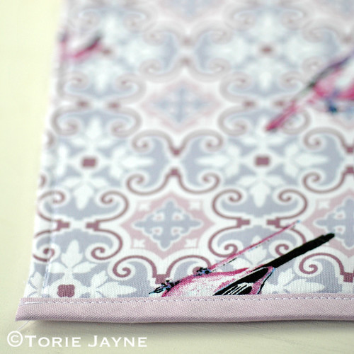 Oven glove sewing tutorial 7