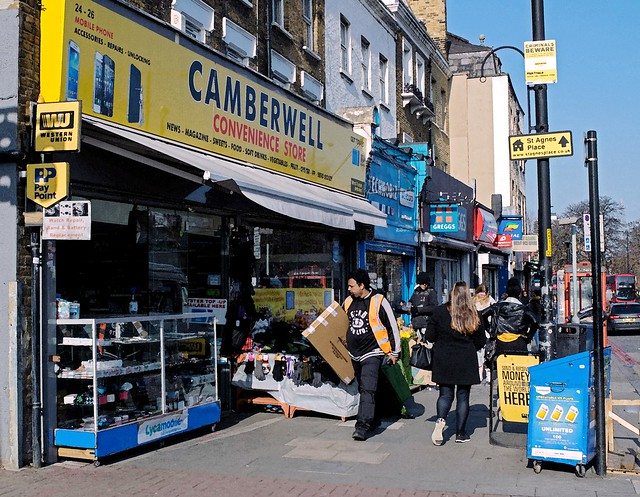 Camberwell Convenience Store: London