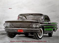 Pontiac Ventura 389 Tri-Power M4 Sport Coupe '1960