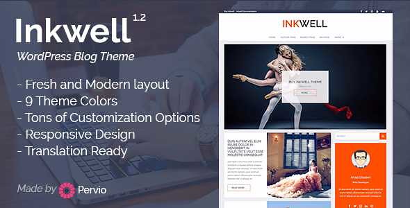 Inkwell WordPress Theme free download