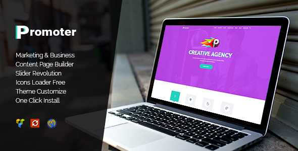 Promoter WordPress Theme free download