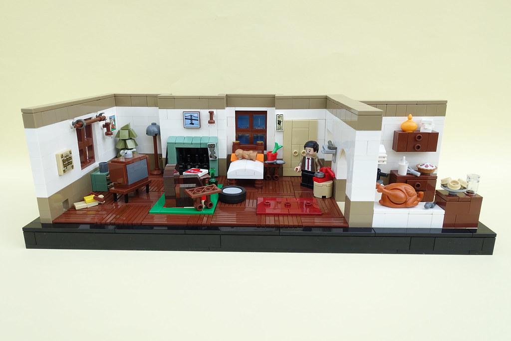 Mr. Bean´s Home (custom built Lego model)